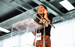 Krishna speaks at the Cherry Bombe Jubilee 2019 conference about cultural diversity and sexism in the food world
