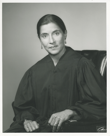 Ruth Bader Ginsburg, in 1980, serving as a federal appeals court judge.