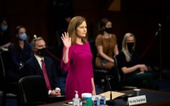 Amy Coney Barrett's historic, and controversial hearing proved how relavent gender equality is in politics. (Photo by Caroline Brehman/CQ Roll Call from Rolling Stones)