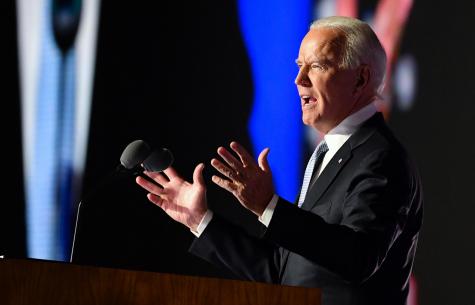 On November 7, in Wilmington Delaware, President-elect Joe Biden addressed the country.