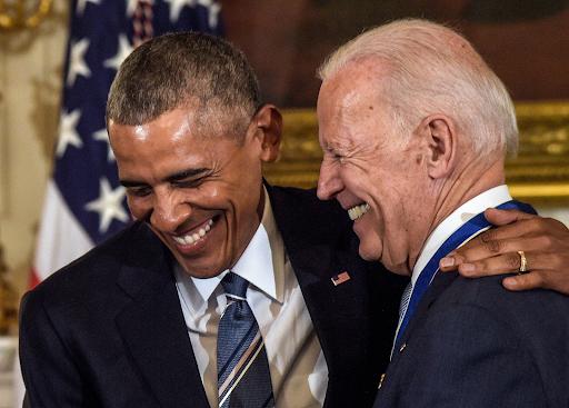 In 2017, President Barack Obama presented Vice President Joe Biden with the Presidential Medal of Freedom.