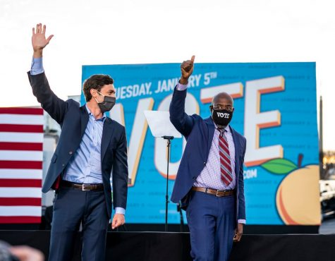 Jon Ossoff and Rev. Raphael Warnock Campaigning (Doug Mills/The New York Times)