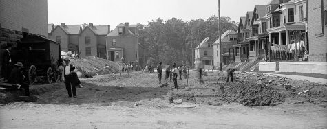 Picture of Pittsburgh neighborhood Point Breeze from many years ago.