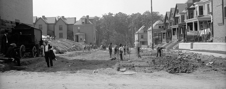 Picture+of+Pittsburgh+neighborhood+Point+Breeze+from+many+years+ago.