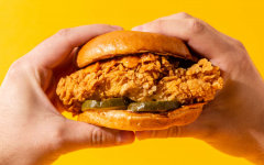 """Senior Chloe Werner remarked that although it was the only chicken sandwich she had tried, """"the Popeye's one was fire."""""""